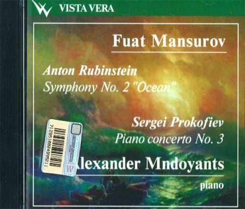 """Anton Rubinstein. Symphony No. 2 """"Ocean"""". Sergei Prokofiev Piano concerto No. 3. Nikita Mndojants, cond. Fuat Mansurov"""