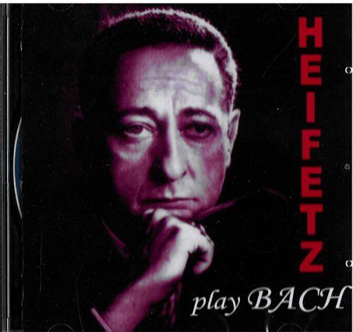 Jascha Heifetz. Bach: Sonatas, Concerto for Two Violins, BWV 1043 in D