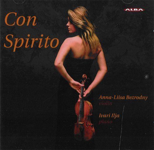 Con Spirito / Анна-Лиза Безродная, скрипка и Илья Ивари, фортепиано