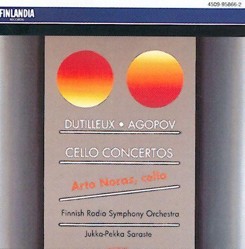 Dutilleux, Agopov: Cello Concertos