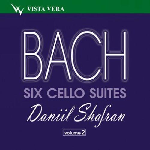 Daniil Shafran.Johann Sebastian Bach. Six Suites for solo cello, vol. 2