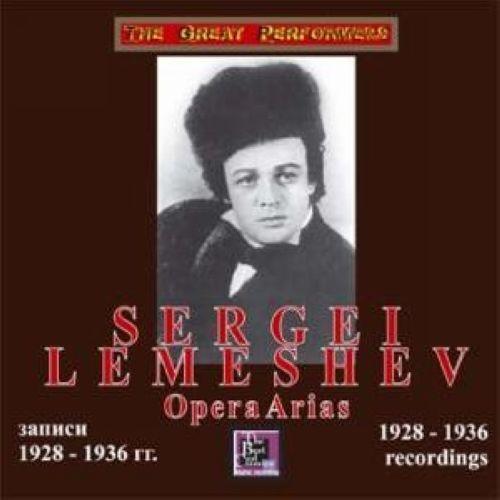 "Lemeshev ""Opera Arias: 1928 - 1936 recordings"""