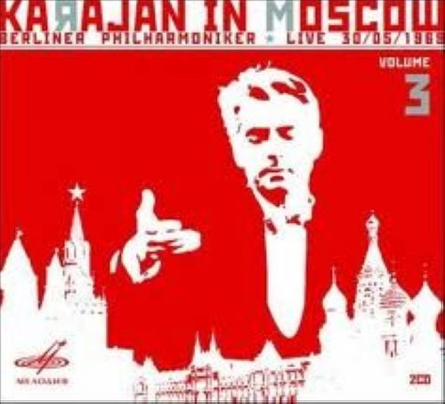 Gerbert von Karajan in Moscow (vol. 3). Mozart, R. Strauss