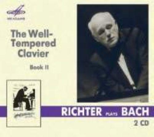 Bach, J S: The Well-Tempered Clavier, Book 2 / Svyatoslav Richter