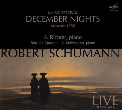 Svyatoslav Richter, Borodin Quartet. Schumann