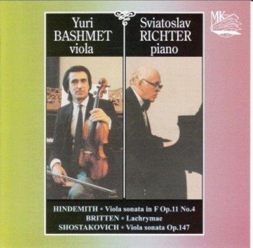 Hindemith, Britten, Shostakovich. Viola sonatas / Bashmet, Richter