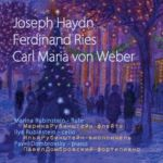 Haydn, Ries, Weber. Trios for flute, cello & piano