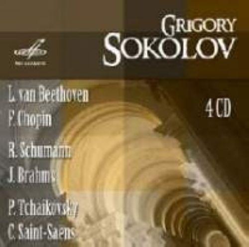 Grigori SOKOLOV / Beethoven, Chopin, Schuman, Brahms, Saint-Saens, Tchaikovsky (4 CD)