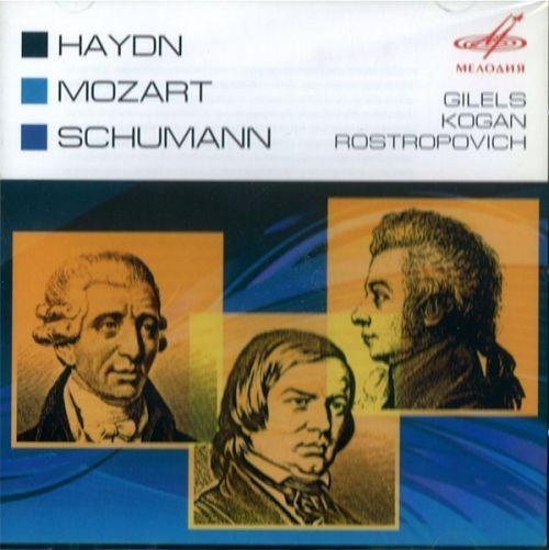 Piano Trios. Haydn, Mozart, Schumann