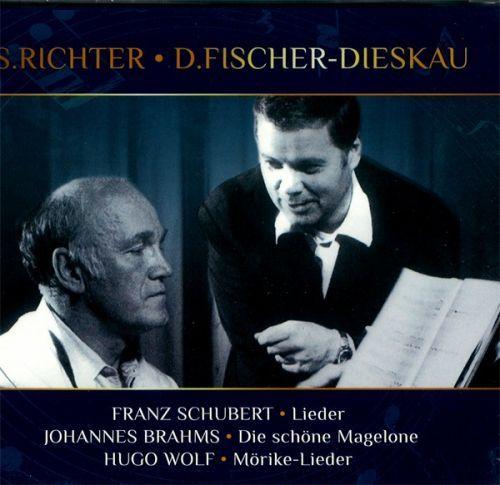 Sviatoslav RICHTER, Dietrich FISCHER-DIESKAU. Schubert, Brahms, Wolf (3CD)