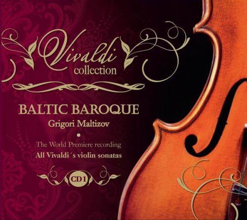All Vivaldi's violin sonatas. CD 1, RV1-RV5. Baltic Baroque / Grigori Maltizov
