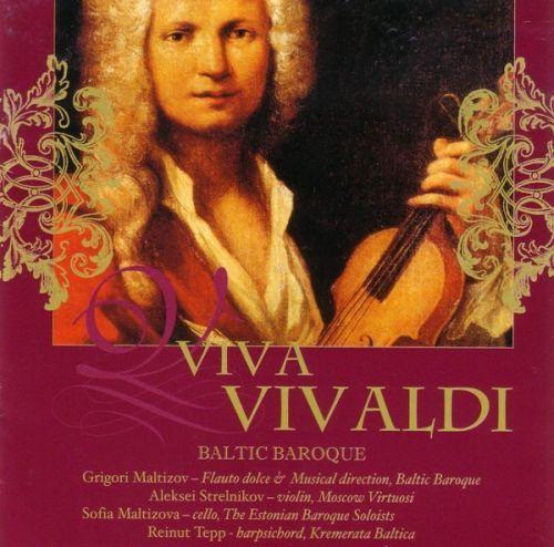 VIVA VIVALDI. Baltic Baroque / Grigori Maltizov
