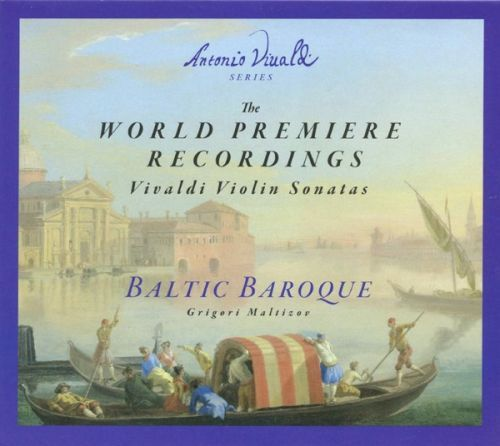 VIVALDI THE WORLD PREMIERE RECORDINGS.  Vivaldi Violin Sonatas