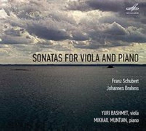 Sonatas for Viola and Piano. Schubert. Brahms