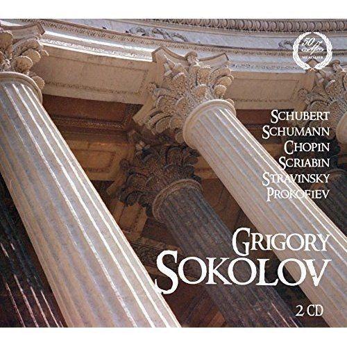 Grigory Sokolov: Schubert, Schumann, Chopin, Scriabin, Stravinsky, Prokofiev