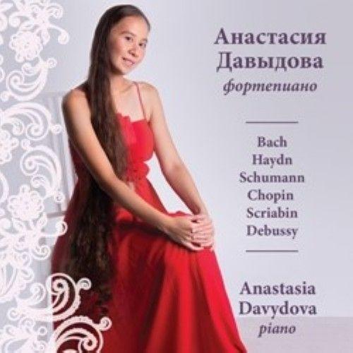 Davydova Anastasija (fortepiano). Proizvedenija Bakha, Gajdna, Shumana, Shopena, Skrjabina, Debjussi