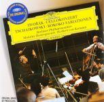 Mstislav Rostropovich, Berliner Philharmoniker, Herbert von Karajan. Dvorak. Cello Concerto / Tchaikovsky. Rococo-Variations