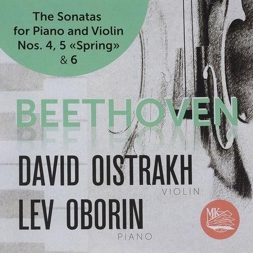 David Oistrakh. Lev Oborin. Beethoven. Sonatas for Violin and Piano No. 4, 5 & 6