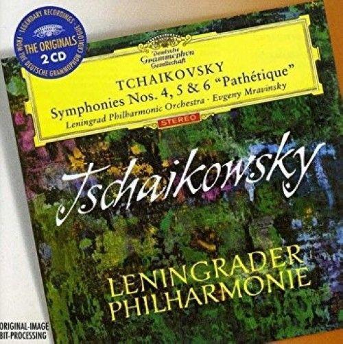 "Evgeny Mravinsky, Leningrad Philharmonic Orchestra. Tchaikovsky. Symphonies Nos. 4, 5 & 6 ""Pathetique"" (2 CD)"
