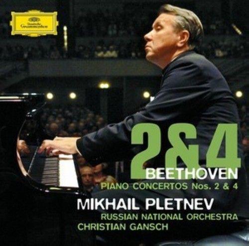 Mikhail Pletnev. Beethoven. Piano Concertos Nos. 2 & 4