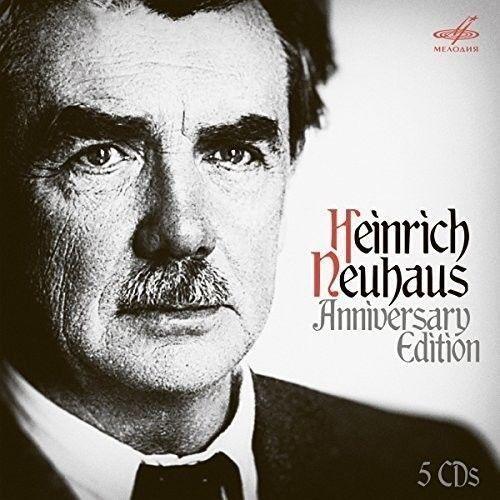 Heinrich Neuhaus. Brahms, Rachmaninoff, Schumann, Shostakovich, Beethoven, Arensky, Chopin, Mozart, Skriabin. Anniversary Edition
