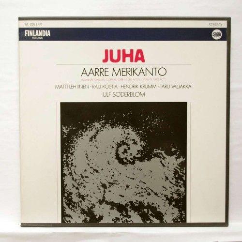 Aarre Merikanto. Juha. Opera in 3 acts. LP