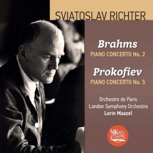 Sviatoslav Richter plays Brahms and Prokofiev. Piano concerts.