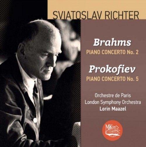 Святослав Рихтер играет Брамса и Прокофьева. Фортепианные концерты