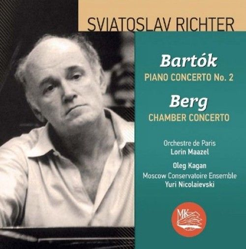 Sviatislav Richter plays Bartok (Piano concerto no.2) and Berg (Chamber concerto).