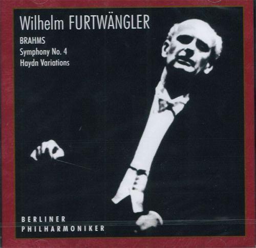 Wilhelm Furtwängler, Berliner Philharmoniker. - Brahms, Symphony No. 4, Haydn, Variations.