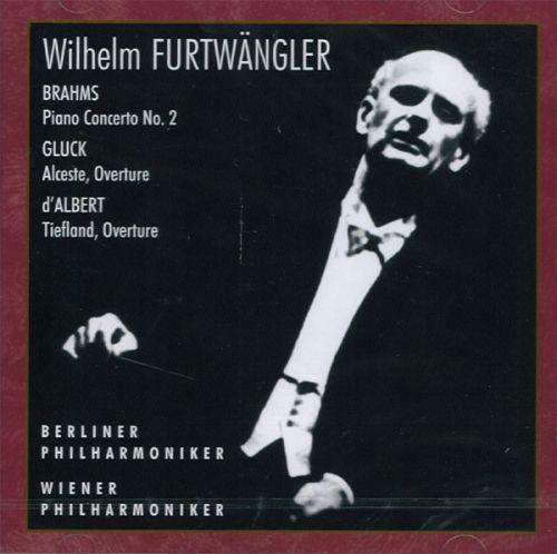 Wilhelm Furtwängler, Berliner Philharmoniker. - Brahms / Gluck / d' Albert.