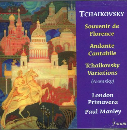 Souvenir de Florence, Andante Cantabile, Arensky, Variations on a Theme of Tchaikovsky