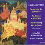 Souvenir de Florence, Andante Cantabile, Arensky, Variations on a Theme of Tchaikovsky