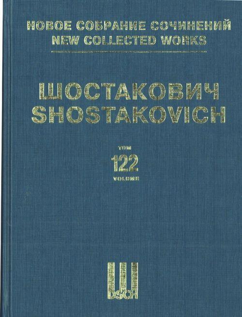New collected works of Dmitri Shostakovich. Vol. 122. New Babylon. Music to the silent film. Op. 18.  Full score.  XIVth Series: Film music