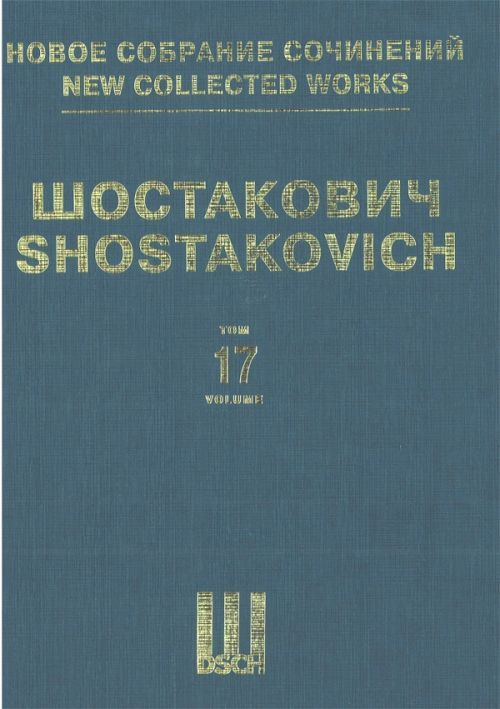 Symphony No. 2. Op. 14. New collected works of Dmitri Shostakovich. Vol. 17. Arranged for two pianos