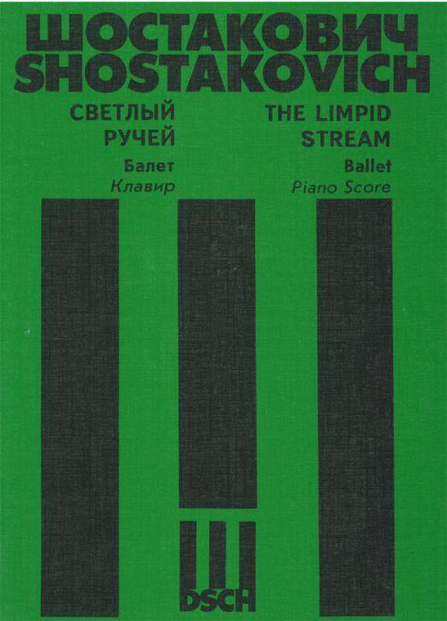 The Limpid Stream. Ballet. Piano score.