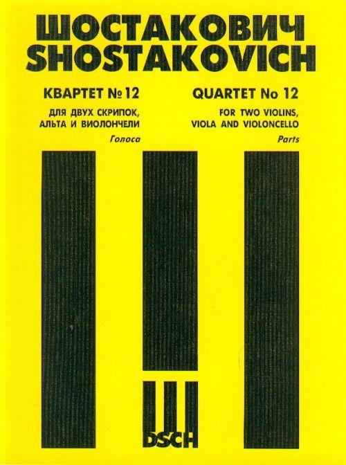 String Quartet No.12. Op. 133. Book Set of Parts.