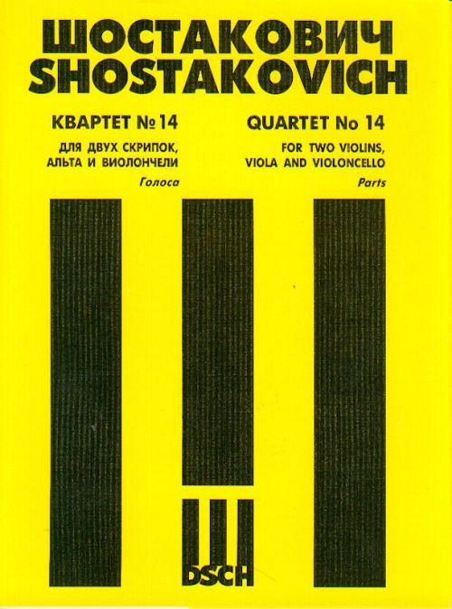 String Quartet No.14. Op. 142. Book Set of Parts.