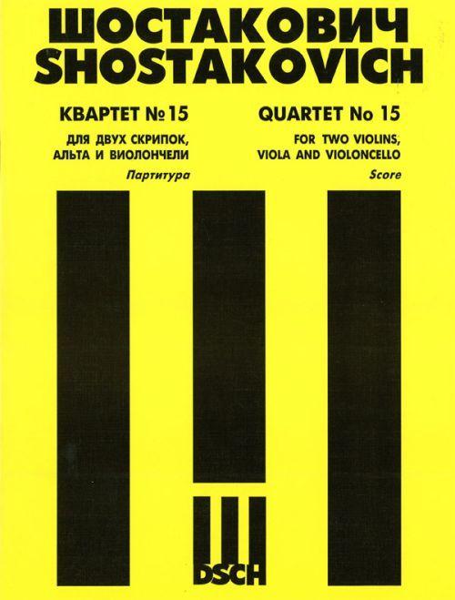 String Quartet No.15. Op. 144. Score.