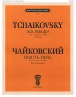 P. I. Tchaikovsky. Six Pieces for piano, opus 51 (ČW 175-180).