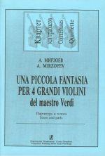 Una piccolo fantasia per 4 grandi violini (to J. Verdi' Themes)