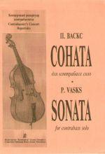 Sonata for contrabass solo