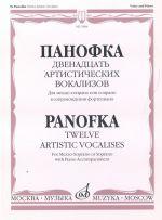 Twelve artistic vocalises for mezzo-soprano
