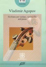 Siciliana for violin, cello & piano (Music school senior forms)