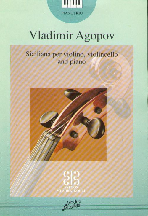 Siciliana for violin, cello & piano (Music school senior forms)