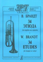 34 Etudes for trumpet or cornet