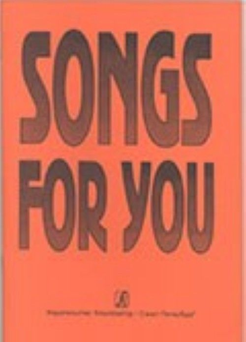 Songs for you. Popular songs (in English)