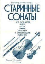 Early Sonatas for Blockflute, Flute, Bassoon, Violin, Cello in Accompaniment of the Piano