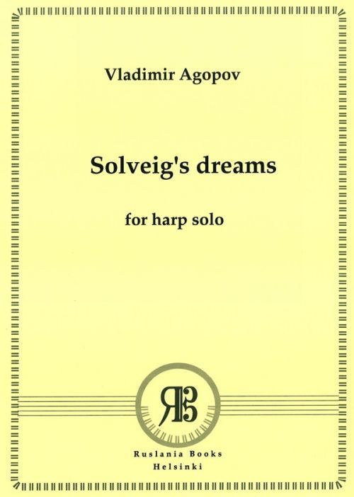 Solveig's dreams for harp solo