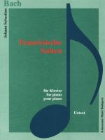 French Suites for Piano. BWV 812-817. Urtext